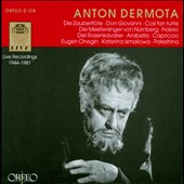 Anton Dermota: Live Recordings, 1949-1981