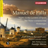Manuel de Falla: Nights in the Gardens of Spain / Jean-Efflam Bavouzet, Raquel Lojendio