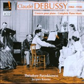 Claude Debussy: Works for Piano / Th&eacute;odore Paraskivesco, Jacques Rouvier: pianos