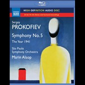 Prokofiev: Symphony No. 5; The Year 1941 / Marin Alsop [Blu-ray audio]