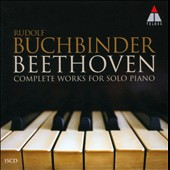 Beethoven: The Complete Works for Solo Piano / Rudolf Buchbinder, piano [15 CDs]