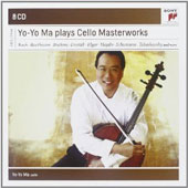 Yo-Yo Ma Plays Great Cello Masterworks by Vivaldi, Boccherini, Haydn, Schumann, Elgar, Bach, Beethoven, Brahms et al. [8 CDs]