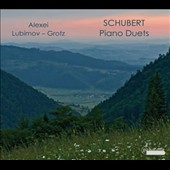 Piano Duets by Franz Schubert / Alexei Lubimov, Alexei Grotz, pianists