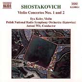 Shostakovich: Violin Concertos 1 & 2 / Kaler, Wit