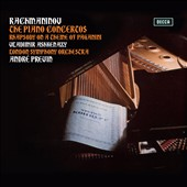 Rachmaninov: The Piano Concertos; Rhapsody on a Theme of Paganini / Vladimir Ashkenazy, piano [2 CDs +Blu-Ray audio]