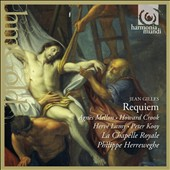 Jean Gilles (1668-1705): Requiem; Diligam te, Domine (motet) / La Chapelle Royale, Herreweghe, Agnes Mellon, Veronique Gens, Howard Crook, Herve Lamy, Peter Kooy