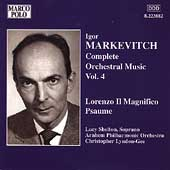 Markevitch: Complete Orchestral Music Vol 4 / Lyndon-Gee