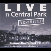 Lee Lessack/Johnny Rodgers: Live in Central Park Revisited: Simon & Garfunkel [Slipcase]