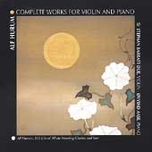 Hurum: Complete Works for Violin and Piano / Barratt-Due