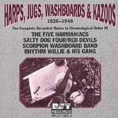 Various Artists: Harps, Jugs, Washboards & Kazoos: 1926-1940