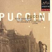Opera - Puccini: Tosca (Highlights) / Levine, Scotto, et al