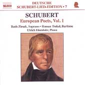 Deutsche Schubert-Lied-Edition 7 - European Poets, Vol 1