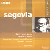 Segovia - Bach, Villa-Lobos, Castelnuovo-Tedesco, Granados