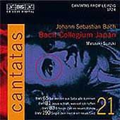 Bach: Cantatas Vol 21 / Suzuki, Bach Collegium Japan