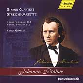 Brahms: String Quartets Op 51 / Verdi Quartet