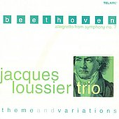 Jacques Loussier: Beethoven: Allegretto from Symphony no. 7, Theme and Variations