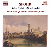 Spohr: String Quintets no 3 & 4 / Papp, New Haydn Quartet