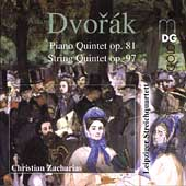 Dvorak: Piano Quintet, etc / Leipzig Quartet, et al
