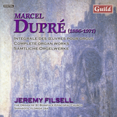 Dupré: Organ Works Vol 2 / Jeremy Filsell