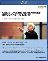 Celibidache Rehearses Bruckner's Ninth / Sergiu Celibidache and the Munich Philharmonic, directed by Jan Schmidt-Garre [Blu-Ray]