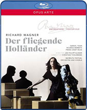 Wagner: The Flying Dutchman / Ricarda Merbeth, Benjamin Bruns, Tomislav Muzek, Christa Mayer, Samuel Youn, Franz-Josef Selig [Blu-Ray]