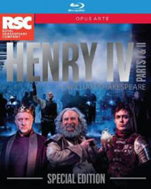 William Shakespeare: Henry IV, Parts I & II / Royal Shakespeare Company; Gregory Doran [2 Blu-Ray]