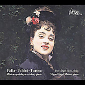 Music for violin & piano -Turina: Violin Sonata Op. 51;  Falla, Toldra / Jesus Angel Leon, violin; Leon, Munoz, piano