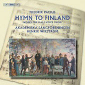 Pacius: Hymn to Finland - Works for Male-Voice Choir / Henrik Wikström, Sangforenigen Academy Orchestra
