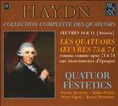 Haydn: Les Quatuors Oeuvres 73 & 74
