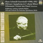 Pfitzner: Symphony in C sharp Minor; Schumann: Szenen aus Faust (Selection)