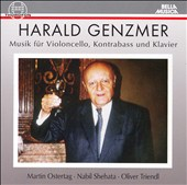Harald Genzmer: Music for cello, contrabass & piano