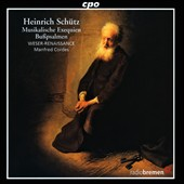 Heinrich Schutz: Musikalische Exequien