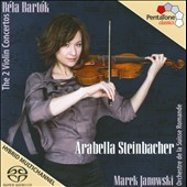 Bart&#243;k: Violin Concertos / Arabella Steinbacher