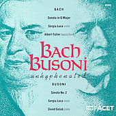 Bach, Busoni - Unhyphenated / Luca, Fuller, Golub