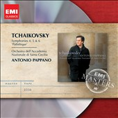Tchaikovsky: Symphonies Nos. 4-6 / Anthonly Pappano