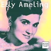 Elly Ameling - The Early Recordings Vol 1