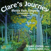 Clare's Journey / Ieuan Jones, harp; Glen Capra, piano; Maida Vale Singers [DVD Audio]