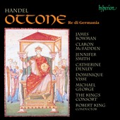 Handel: Ottone, Re di Germania / Claron McFadden, Jennifer Smith, James Bowman, Dominique Visse, Catherine Denley, Michael George