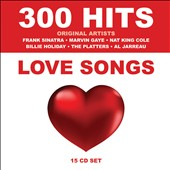 Various Artists: 300 Hits: Love Songs [Box]