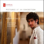 Mussorgsky: Pictures at an Exhibition; Beethoven: 'Appassionata' sonata; Scribin: Piano Sonata no 10 / Federico Colli, piano