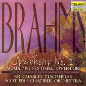 Brahms: Symphony no 1, etc / Mackerras, Scottish CO