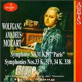 Mozart: Symphonies no 31, 33, 34 / Peter Maag, et al