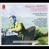 Ravel: Complete Piano Music / Jacques Rouvier, piano;  Theodore Paraskivesco, second piano