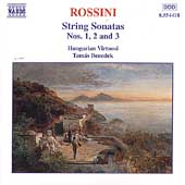 Rossini: String Sonatas Vol 1 / Benedek, Hungarian Virtuosi