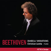 Beethoven: Diabelli Variations, Op. 120 / Christian Leotta, piano