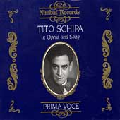 Prima Voce - Tito Schipa in Opera and Song