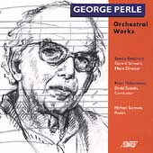 Perle: Sinfonietta II, etc / Gerard Schwarz, David Epstein