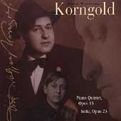 Korngold: Piano Quintet, Suite / Brake, Marsh, et al