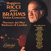 Ruggiero Ricci Plays Brahms - Violin Concerto