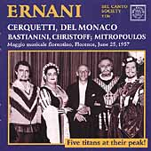 Verdi: Ernani / Mitropoulos, Cerquetti, Del Monaco, et al